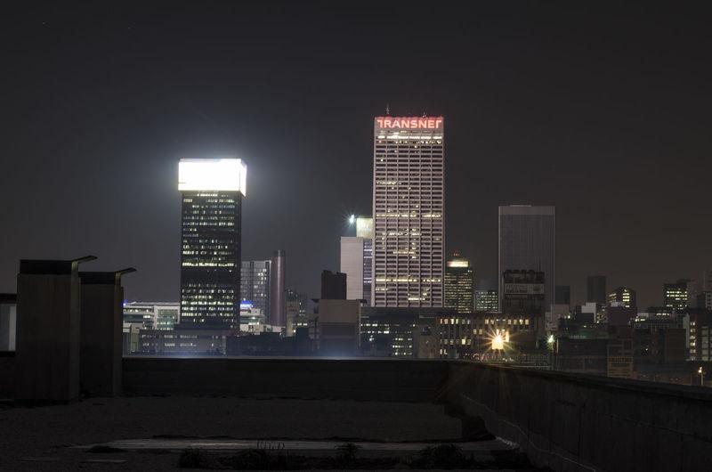 The city at