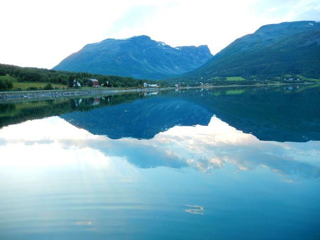 Beauty In Nature Idyllic Lake Mountain Mountain Range Nature Norway Norwegen Reflection Scenics Sky Tranquility Travel Travel Destinations Traveling Water