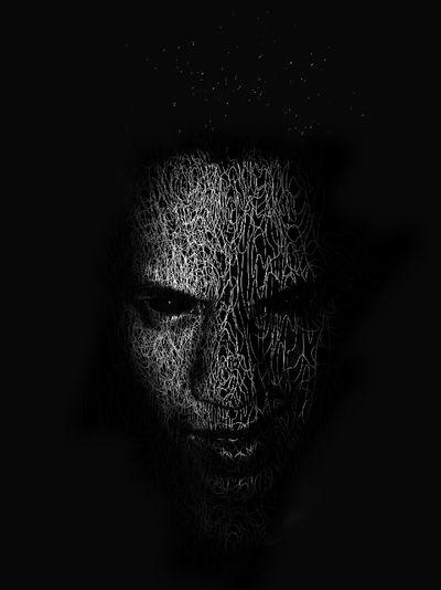 Dark Photography Human Eye Black Background