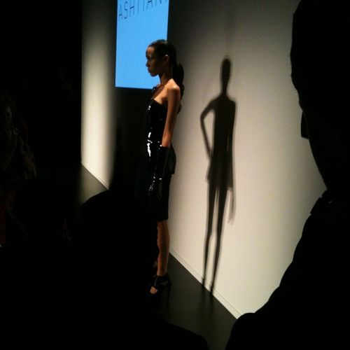 Glorious slick leather at Ashtiani @golnazashtiani Wmcfw Fashion Style Torontofashionweek instagood instamood runway