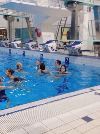 Sore Muscles Getting In Shape Swimming Pool Class Dayumm