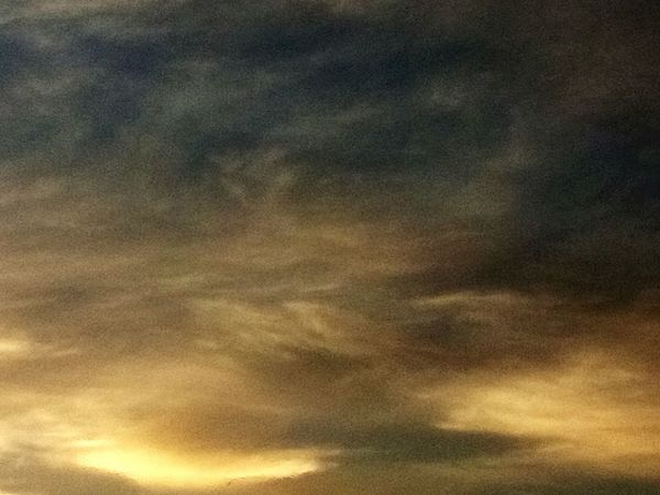 Dramatic Sky Sunset Clouds And Sky darkness and light No People Outdoors Beauty In Nature Abstract Abstract Backgrounds Backgrounds Dramatic Sky Cloud - Sky Textured  Yellow
