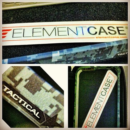 Just got my Urban Tactical Case from @elementcase Highlyrecommended