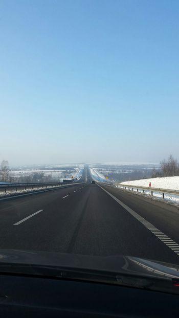 Snow Holidays  Road Poland