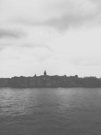 B&w Black & White ıstanbul Turkey Bosphorus Galata Tower Galata Kulesi Sony Mobile Learn & Shoot: After Dark From My Point Of View Getting Inspired Our Best Pics Showcase April EyeEm Best Shots Eye4photography  EyeEm Masterclass The Week On EyeEm Sea And Sky Mobile Photography XperiaM5 Sony Xperia Buildings Taking Photos