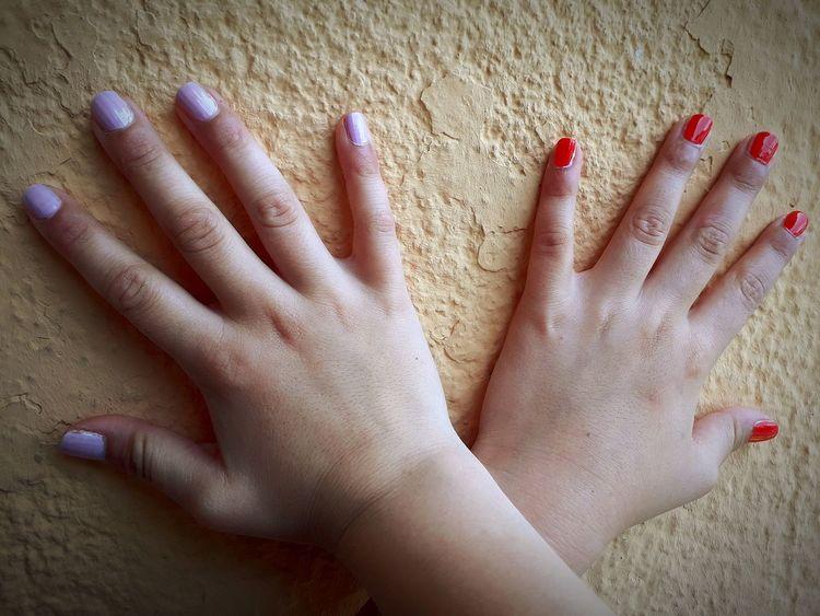Human Hand Nail Polish Fingernail Palm Beach Child Sand Women Childhood Manicure EyeEmNewHere