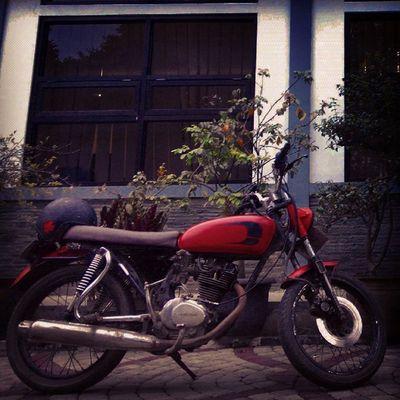 the next Lzybstrd Djoni is back... hahaha... Bike Oldbike Honda CB100 Classicbike Rawmaterials for the next Costumbike Streetlife Streetbike Besitua calon Motorkustom Cbbandung Cbbandungclassicoldcycle Ride Ridepride Lenovotography Photooftheday Photophone