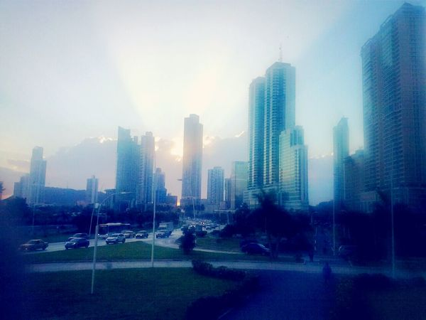 By Pit O. Cintacostera3 Atardecer Cielo Panama City Skyscrapers My Art Relaxing