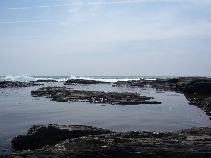 Popham Beach State Park Water Sky Sea Cloud - Sky Nature Land Tranquility Scenics - Nature Horizon Over Water Outdoors