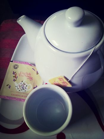 Tea in the morning.