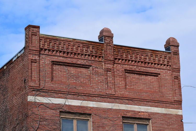 Indiana Brick Building Architecture Building Exterior Built Structure City Day Façade No People Outdoors Sky