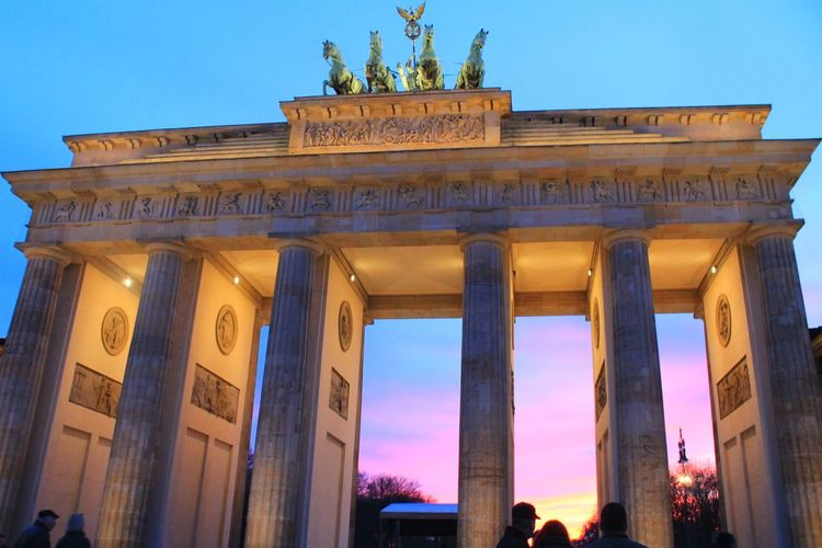 Dreams come true. Berlin 2015♥ Amazing Architecture Berlin Brandenburger Tor Trip Photo Capture Berlin