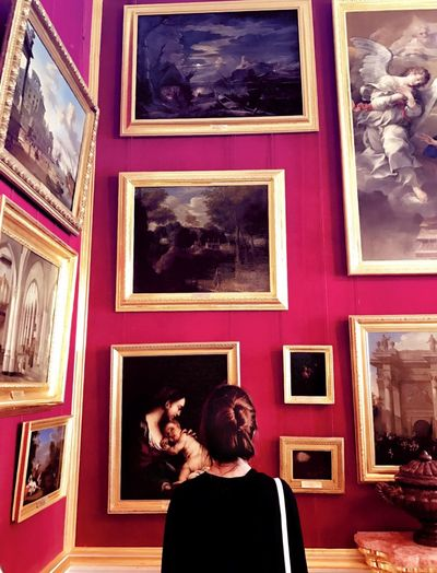 Picture Frame Photograph Two People Women Arts Culture And Entertainment Men Young Adult Adults Only Young Women Multi Colored Photography Themes Indoors  Architecture People Day Film Industry Adult History Art Picture Alone Beautiful OpenEdit Motley Palace The Week On EyeEm