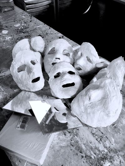 Plaster mask. 648944