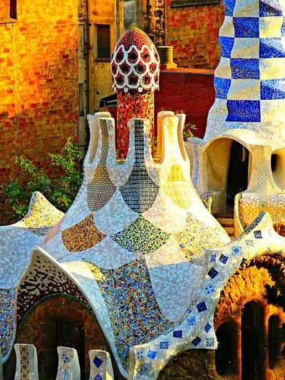 Mosaic Mosaicart Parkphotography Tower Check This Out Architecturephotography Buildingphotography Artphotography Parkguell Barcelona SPAIN Colorful Eyemart Eyeemphotography Eyeemcollection Eye4photography