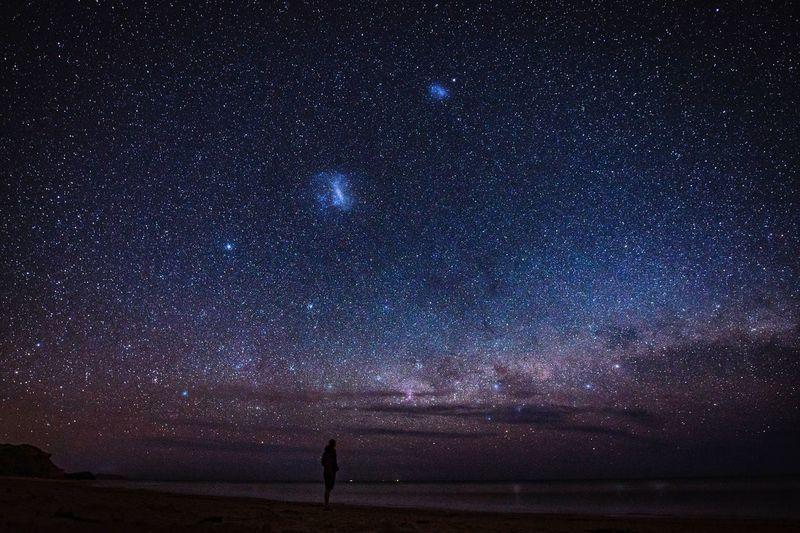 Star gazing in