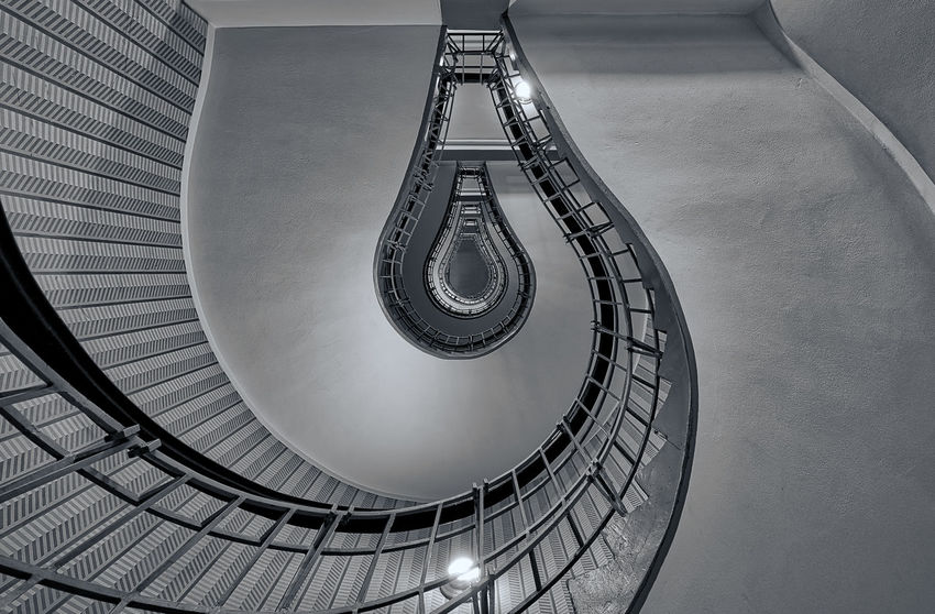 Infinite Stair Architectural Detail Architecture EyeEm Best Shots The Architect - 2016 EyeEm Awards The Architect - 2015 EyeEm Awards Eye4photography  EyeEm Gallery Hello World Blackandwhite Stairway Stairway To Heaven Black & White Blackandwhite Photography Like Photo Photography