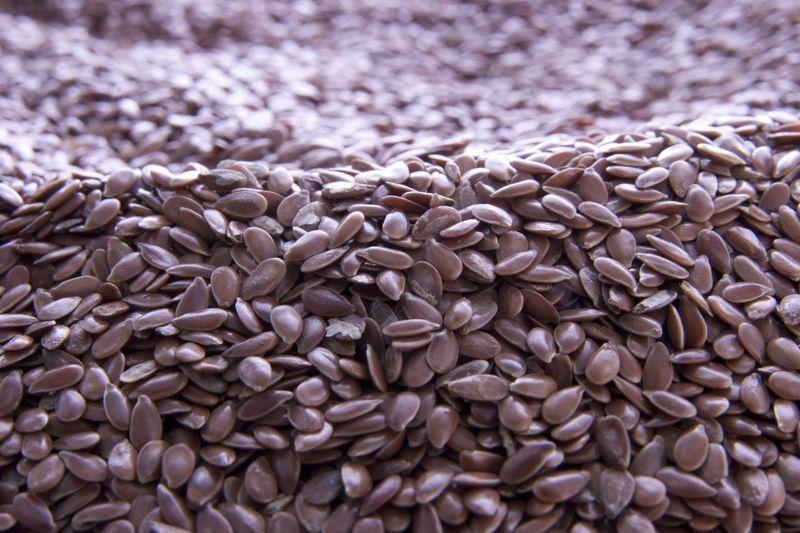 Full frame shot of sunflower seeds