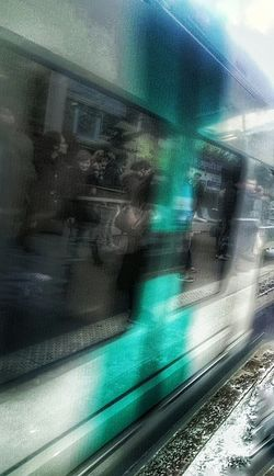 RER Paris Parisian Life Waiting Pic Of The Day Hdr Edit Hdr_Collection Reflexions Telling Stories Differently