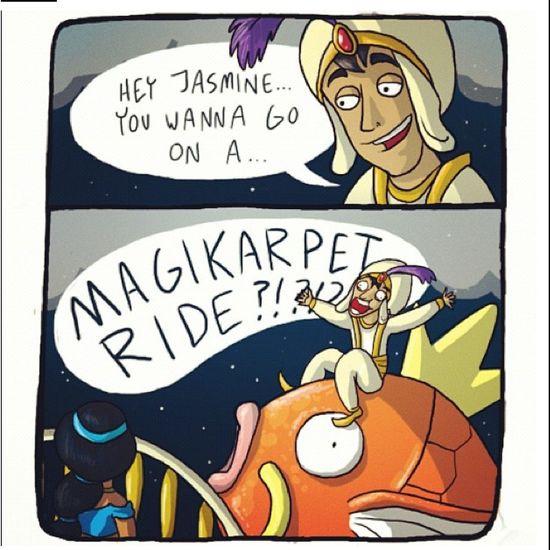 Lol Pokemon Aladdin