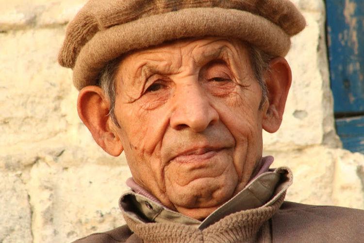 Dado Asmat Gilgit Old Age Respect Potrait Ruhani