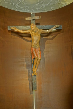 Passau, Germany - Jesus ob cross, inside St. Stephen's Cathedral Christianity .. Close-up Cross Day Human Representation Indoors  Jesus On Cross No People Religion Religions Sculpture Spirituality Statue The World Before Bin Laden