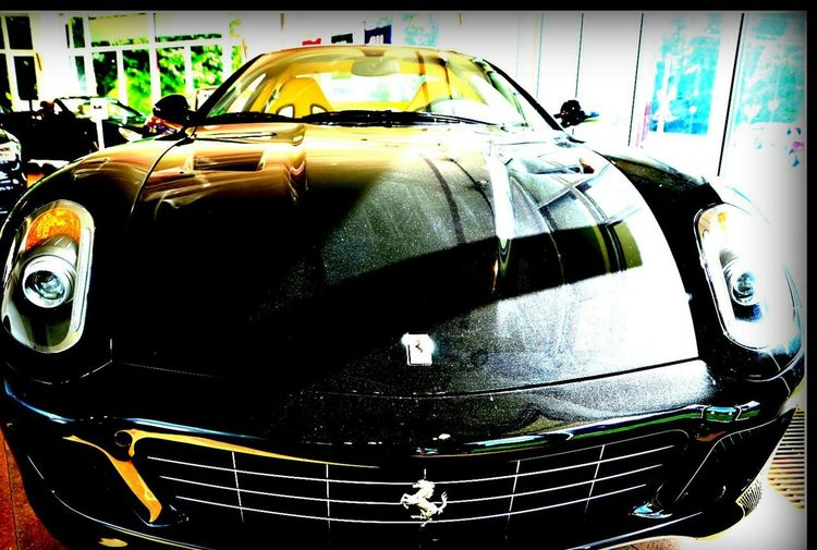 Cavallinorampante First Eyeem Photo Automobil Autos Besteautos NumberOne Black Nera Beutiful  Geil Power Potenza Motore
