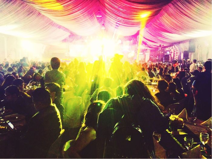 Party Time Cvgyearendparty Stepintothelight Large Group Of People Music Crowd Audience Nightlife Arts Culture And Entertainment Fun Enjoyment Performance Excitement Music Festival Carefree Illuminated Real People Popular Music Concert Night Stage Light Women Togetherness Stage - Performance Space