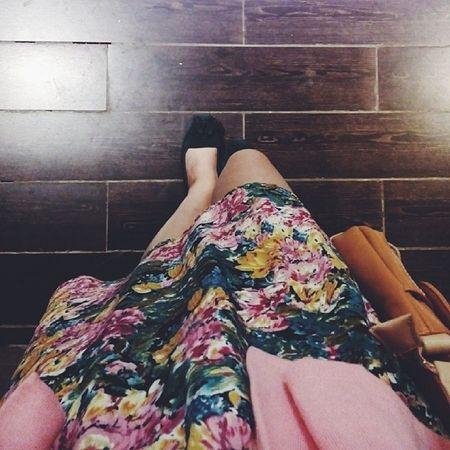 Sunday nite out. Floraldress Todayiwear