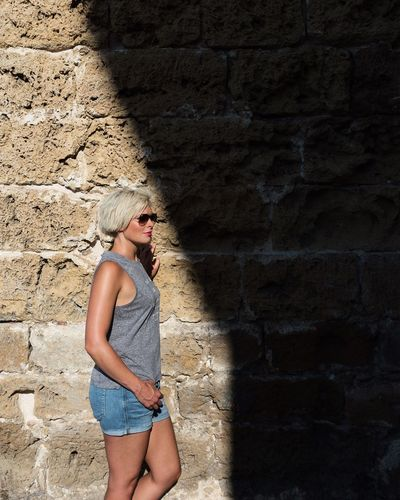 Wherever you go, go with all your heart. Confucius Young Women One Person Blond Hair Casual Clothing One Woman Only Beautiful Woman The Week On EyeEm Sunglasses Rayban Eyemphotography Greece Vacations Eyemphotos Background Eyem Best Shots Chania Eyem4photography Eyem Standing Shadow Shadowplay EyeEm Selects The Week On EyeEm EyeEm Ready   The Fashion Photographer - 2018 EyeEm Awards