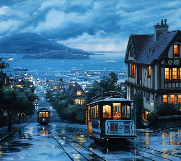 Trams Along Built Structures