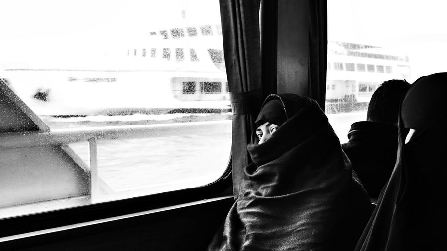 Istanbul Turkey Portrait Street Photography Street Burka  Monochrome Monochromatic Black And White Black & White