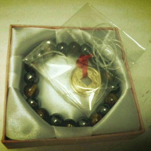 Tiger's eye with hematite Goodfortune Crystal Protection