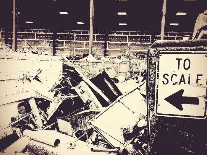Black And White Scale  Sign Metal Scrap Scrap Metal Scrap Yard Art Is Everywhere The Secret Spaces The Street Photographer - 2017 EyeEm Awards