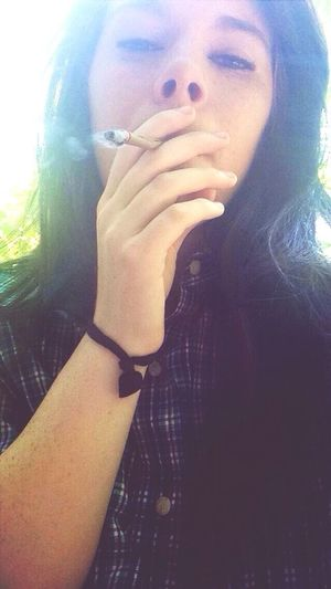 Smoke Up Blunt Blowing