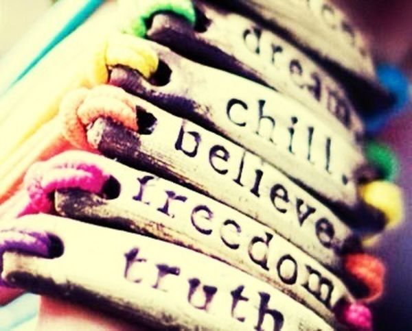 Dream,believe,achieve, whatever?! Just live your life to fullest :)