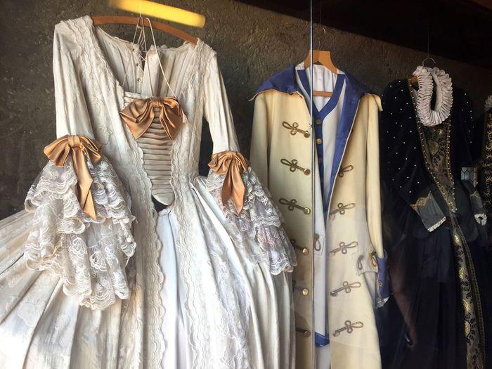 EyeEm Selects Coathanger Clothing Fashion Textile Hanging Historic Dress Cloth Museum