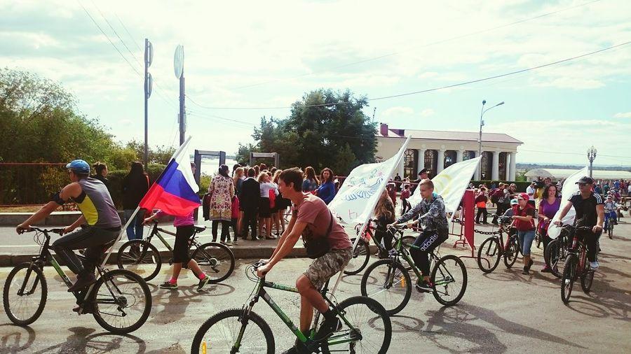 Color Of Sport ДеньГорода Cyclists вместевсейгруппой