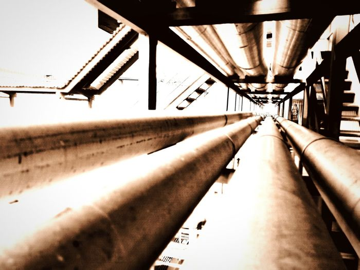 Industrial Photography Pipeline Totheinfinity LINE Straight Leadtolight