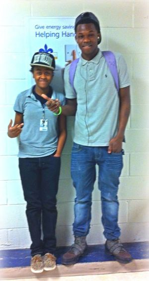 Me And Dez Thugging After School