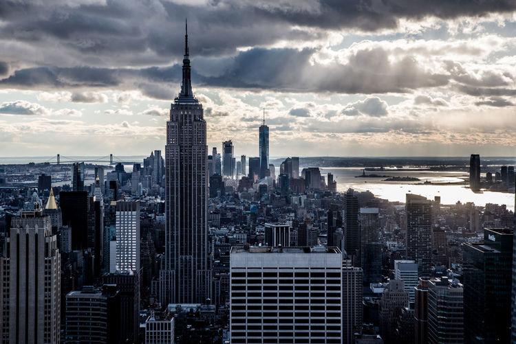 Empire State Building Manhattan Manhattan Skyline New York City New York Skyline  Skyline #urbanana: The Urban Playground