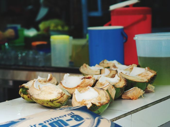 Coconut Coconut Fruit EyeEm Selects City Business Finance And Industry Seafood Tradition Close-up Food And Drink