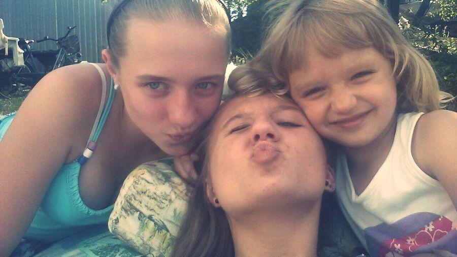 Family Gabi Milenka Julcia