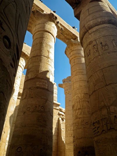 History Architecture Archaeology Travel Tourism Ancient Civilization Ancient Old Ruin Egypt Egyptian Culture Egyptphotography Architectural Column The Past Low Angle View Place Of Worship Travel Destinations Ruined Built Structure Sashalmi