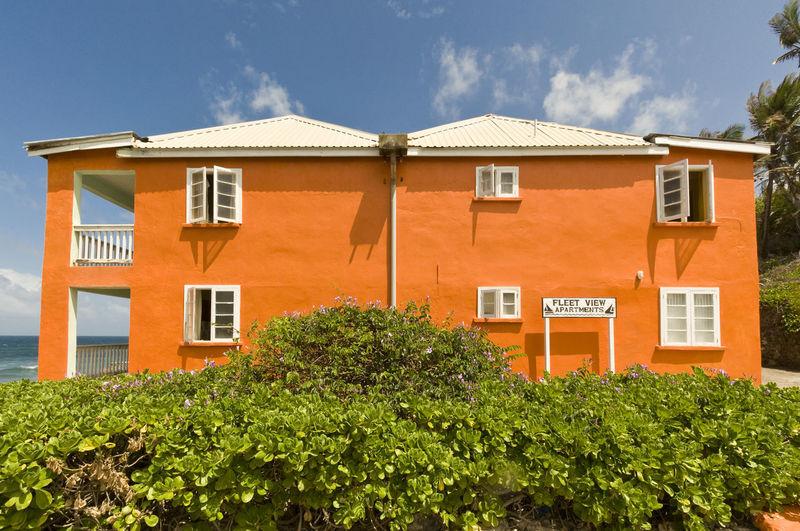 Beach Life Beach Villa Contrast Orange Orange Color