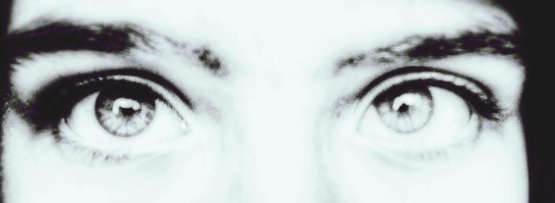 Eyes Strange Blackandwhite Black&white