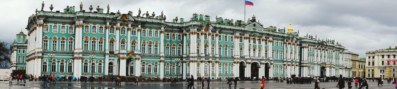 Panoramic Shot Of State Hermitage Museum