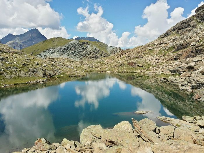 Valledaosta Alps Mountains Lake Smartphonephotography Mountains And Sky Nature Outdoor Nature Is Art