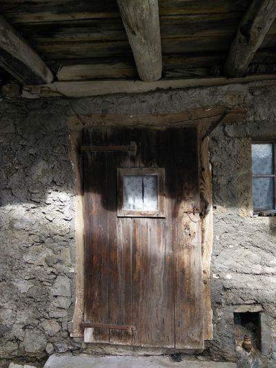 Old door Mountain Architecture