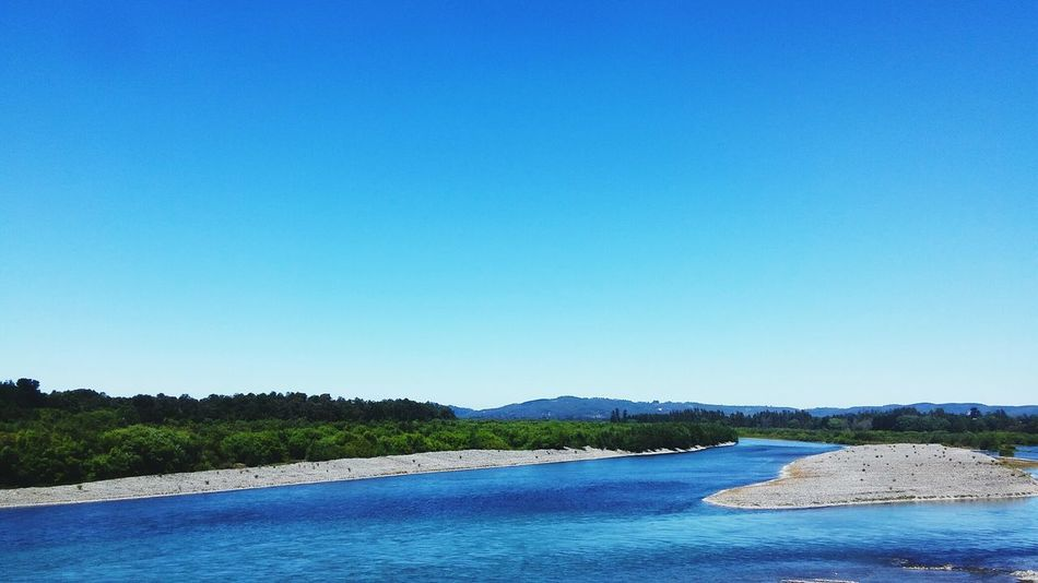 Chile♥ Blue Water Sand Nature Beach Sky Wetland Landscape Clear Sky Şūr 9 No People Outdoors Day Beauty In Nature Sand Dune